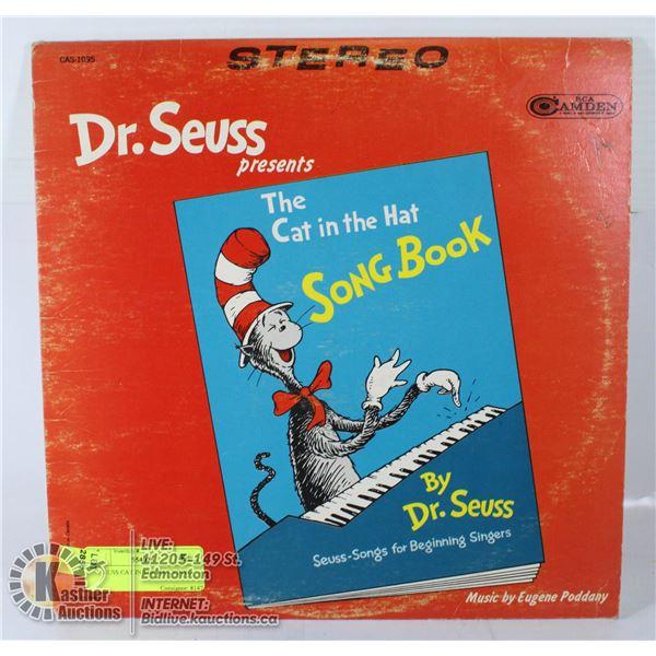 DR SEUSS CAT IN THE HAT VINYL