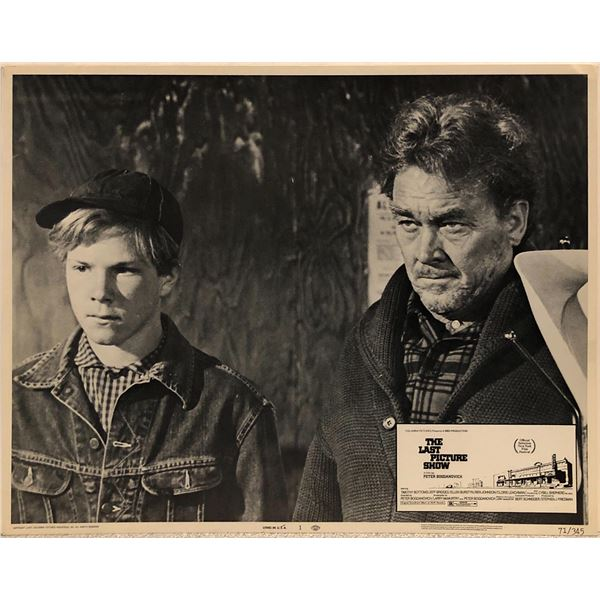 The Last Picture Show Original 1971 Vintage Lobby Card