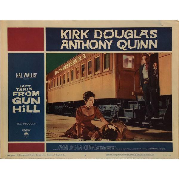 Last Train from Gun Hill Original 1959 Vintage Lobby Card