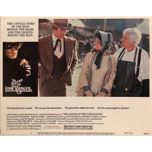 Legend of the Lone Ranger Original 1980 Vintage Lobby Card