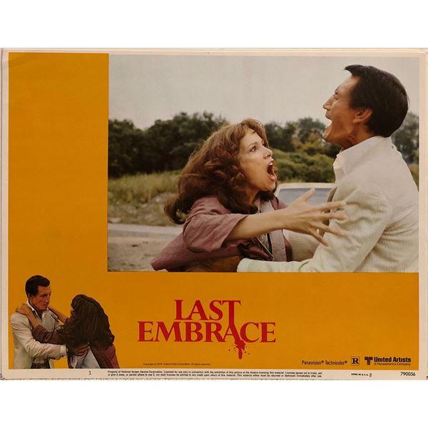 Last Embrace Original 1979 Vintage Lobby Card