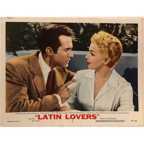 Latin Lovers Original 1953 Vintage Lobby Card