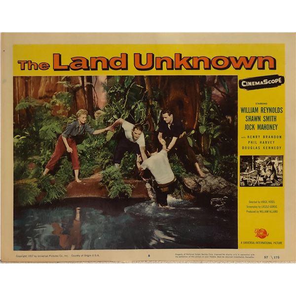 The Land Unknown Original 1957 Vintage Lobby Card