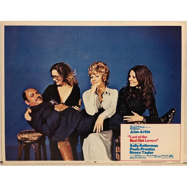 Last of the Red Hot Lovers Original 1972 Vintage Lobby Card