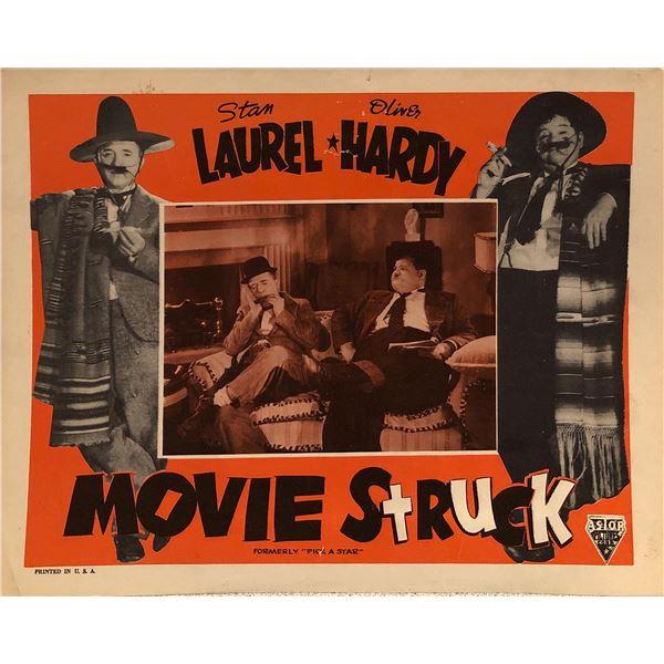 Laurel & Hardy: Movie Struck Original 1954R Vintage Lobby Card