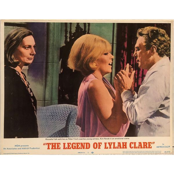 The Legend of Lylah Clare Original 1968 Vintage Lobby Card
