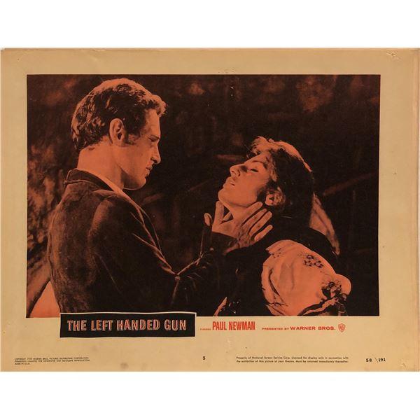 The Left Handed Gun Original 1958 Vintage Lobby Card