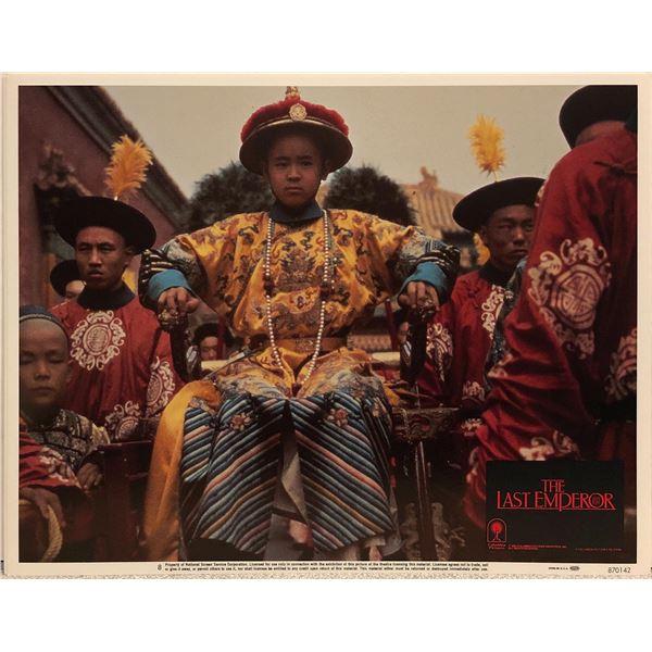 The Last Emperor Original 1987 Vintage Lobby Card