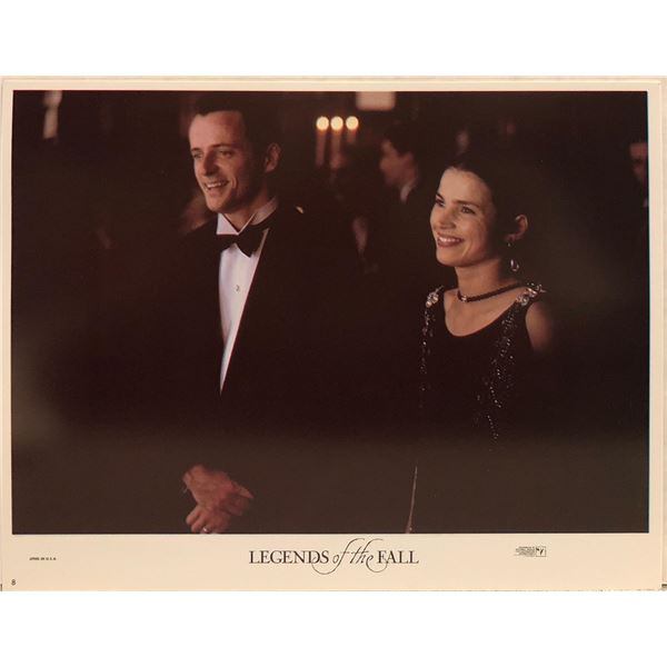 Legends of the Fall Original 1995 Vintage Lobby Card