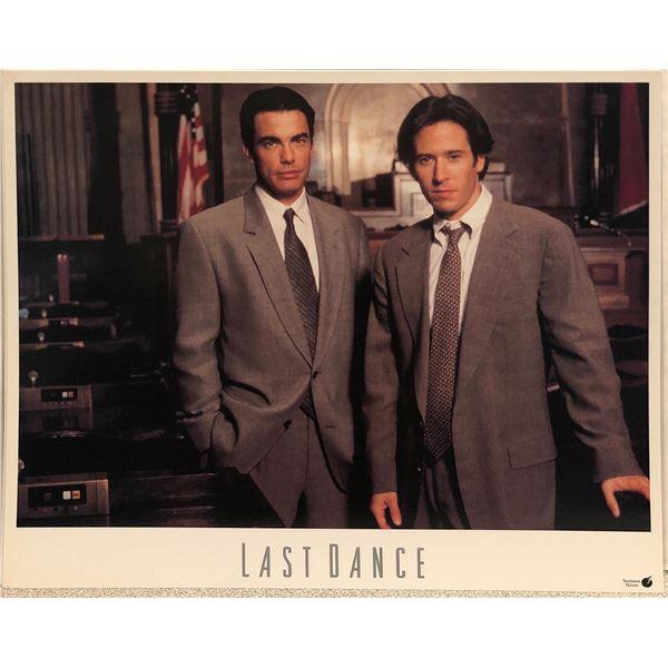 Last Dance British Original 1996 Vintage Lobby Card