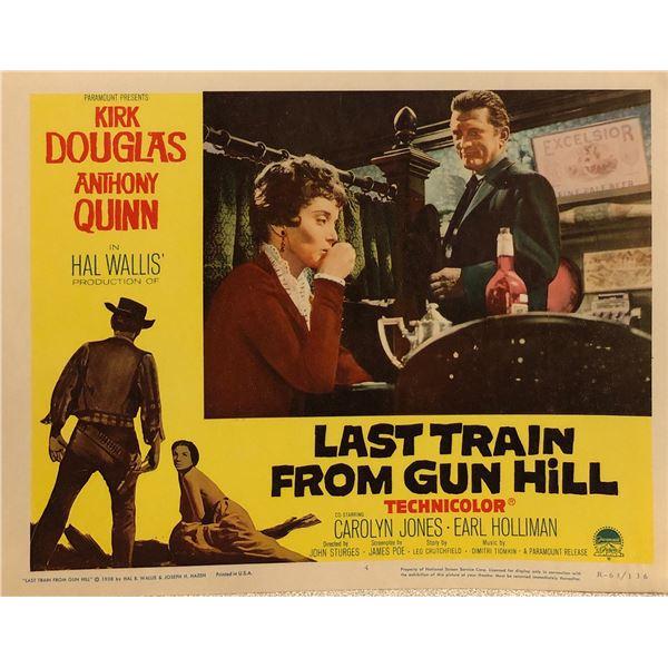 Last Train from Gun Hill Original 1963R Vintage Lobby Card