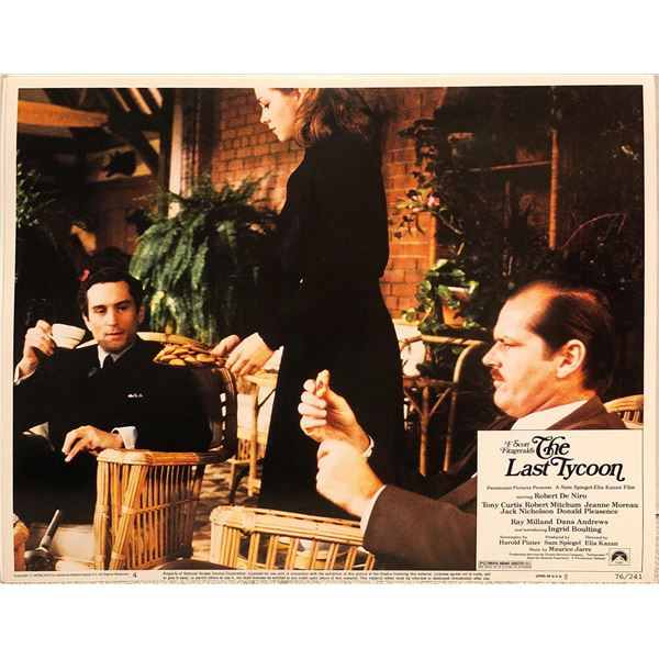 Last Tycoon Original 1976 Vintage Lobby Card