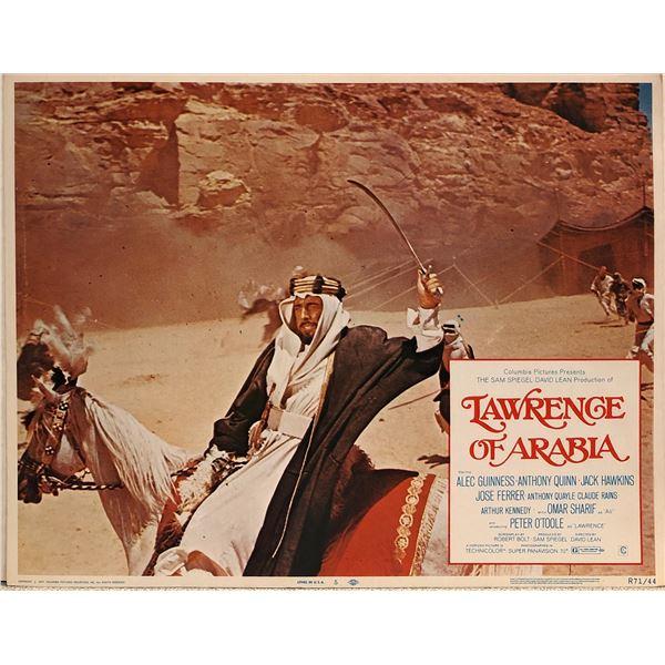 Lawrence of Arabia Original 1971R Vintage Lobby Card