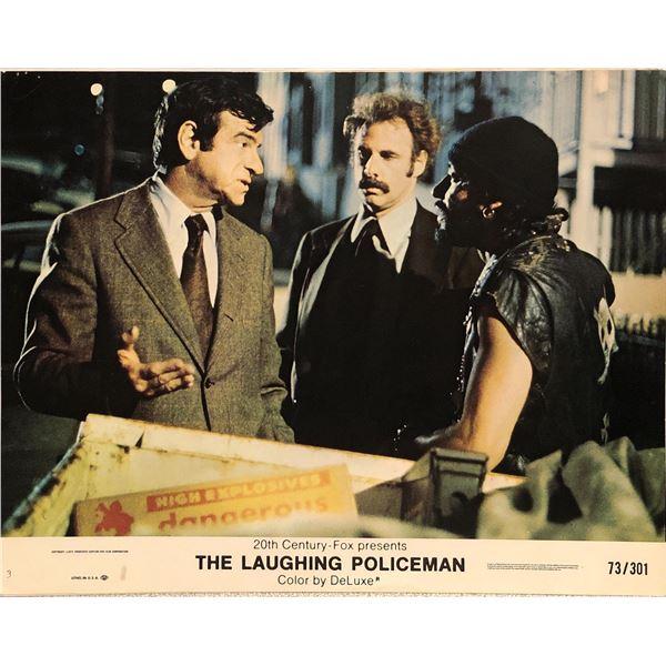 The Laughing Policeman Original 1973 Vintage Lobby Card