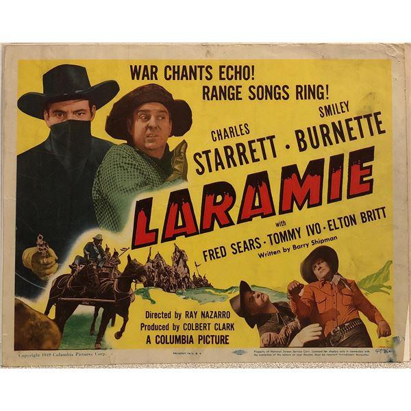 Laraime Original 1949 Vintage Lobby Card