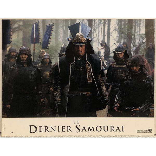 The Last Samurai Original 2003 French Lobby Card