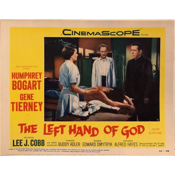 The Left Hand of God Original 1955 Vintage Lobby Card