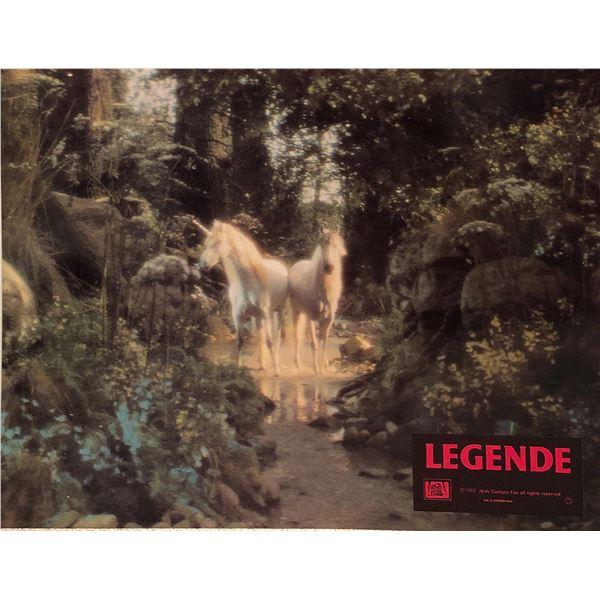 Legend Original 1985 Vintage French Lobby Card