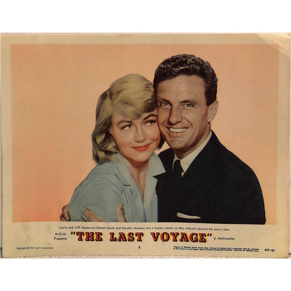 The Last Voyage Original 1960 Vintage Lobby Card