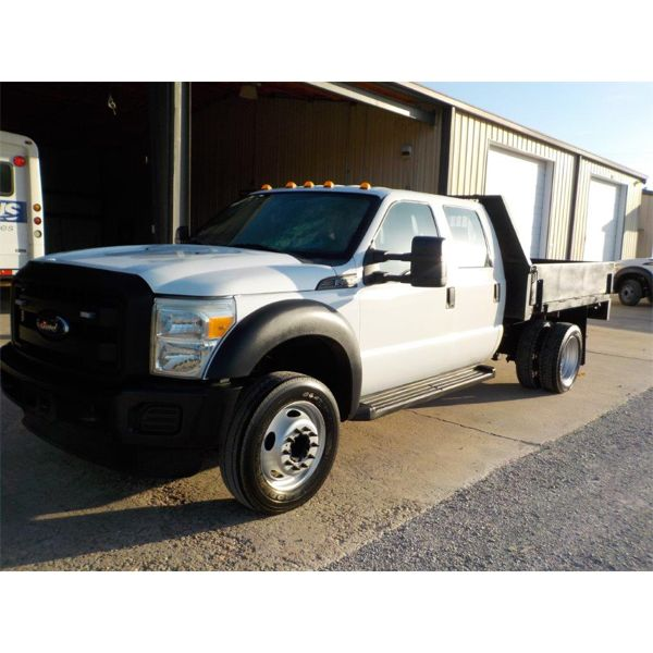 2016 FORD F450 XL Flatbed Truck