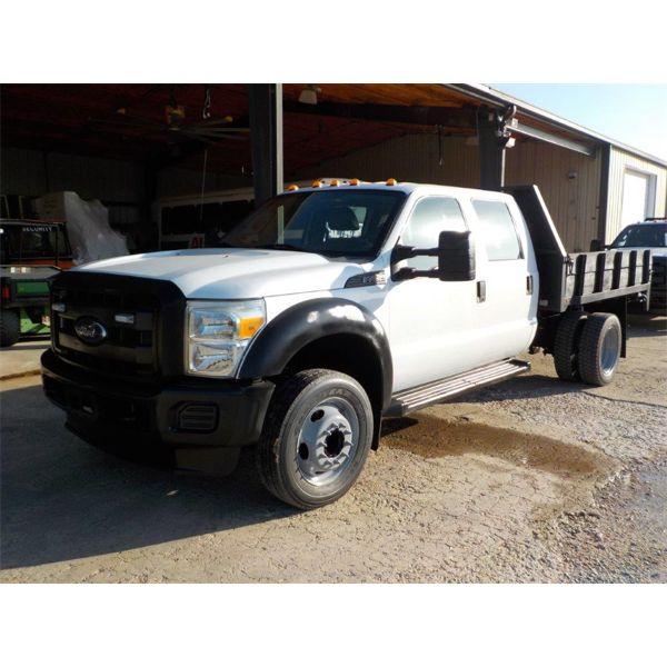 2015 FORD F450 XL Flatbed Truck
