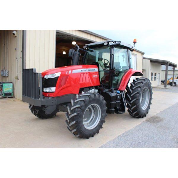 2013 MASSEY FERGUSON 7614 Farm Tractor