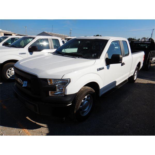 2017 FORD F150 XL Pickup Truck