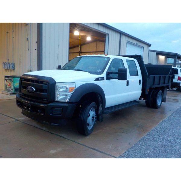 2012 FORD F550 XL Flatbed Truck