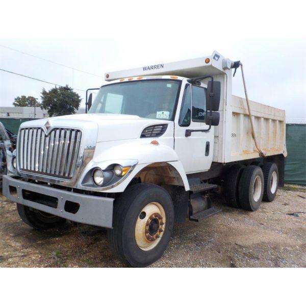 2014 INTERNATIONAL 7400 WORKSTAR Dump Truck