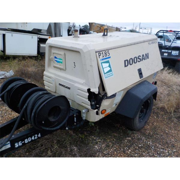 2015 DOOSAN P185W DTZ Air Compressor