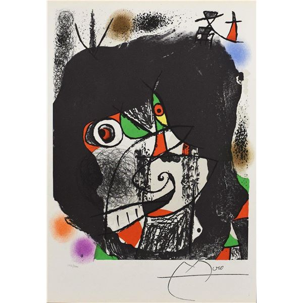 "Joan Miro ""End of Illusion I"""