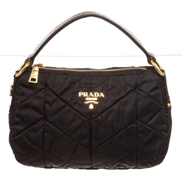 Prada Black Quilted Handbag