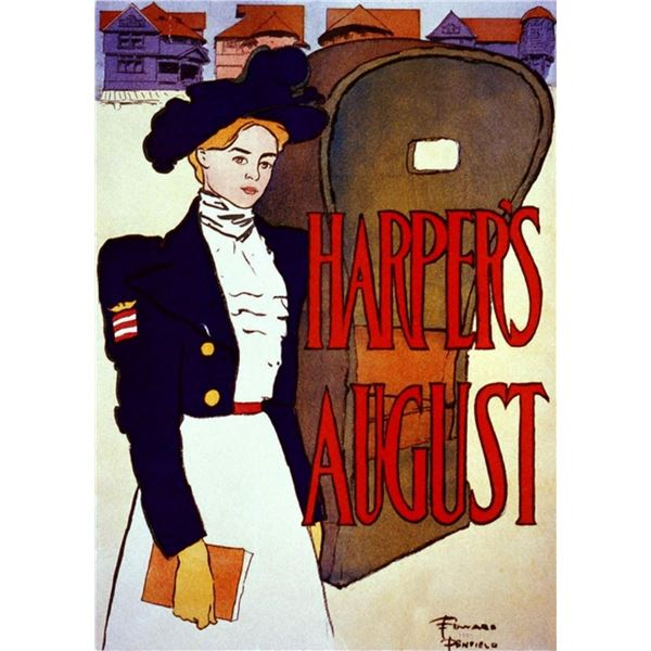 Edward Penfield - Harpers August 1897