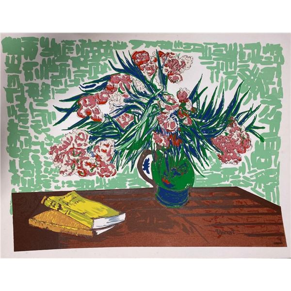 "Vincent Van Gogh ""Pink Flowers"""