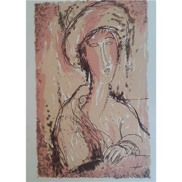 "Amedeo Modigliani ""Portrait of a Woman"""