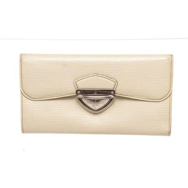 Louis Vuitton Cream Epi Leather Eugnie Wallet