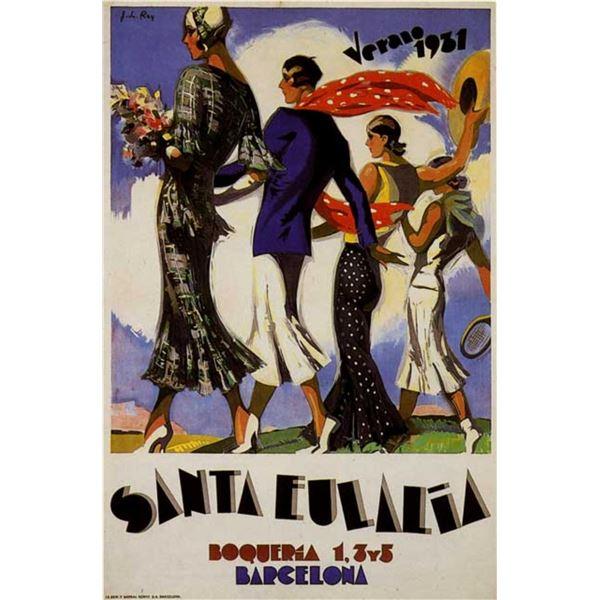 J L Rey - Verano 1931 Santa Eulalia
