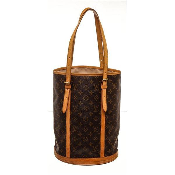 Louis Vuitton Brown Monogram GM Bucket Bag
