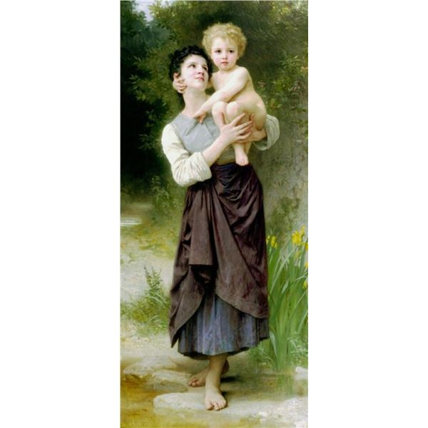 William Bouguereau - Brother and Sister