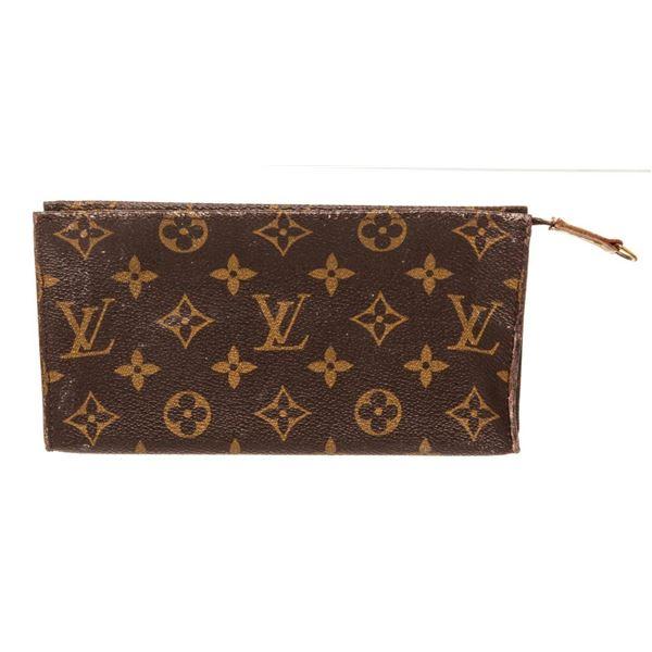 Louis Vuitton Brown Monogram Pouch Wallet