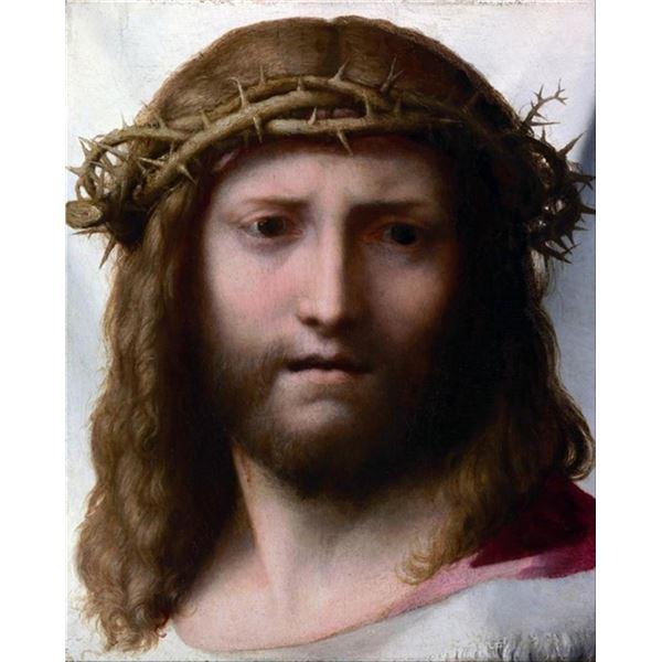 Antonio Allegri da Correggio  - Head of Christ