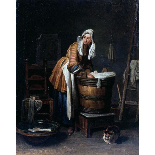 Jean Baptiste Chardin - Washerwoman