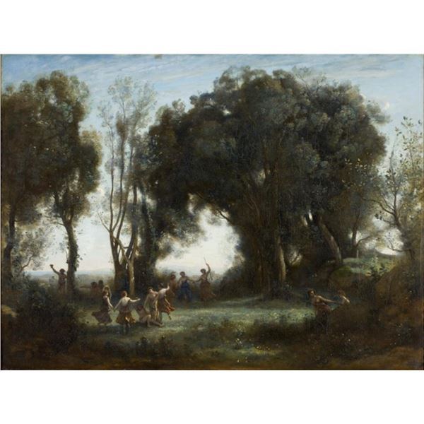 Jean-Baptiste Camille Corot - The Dance of the Nymphs