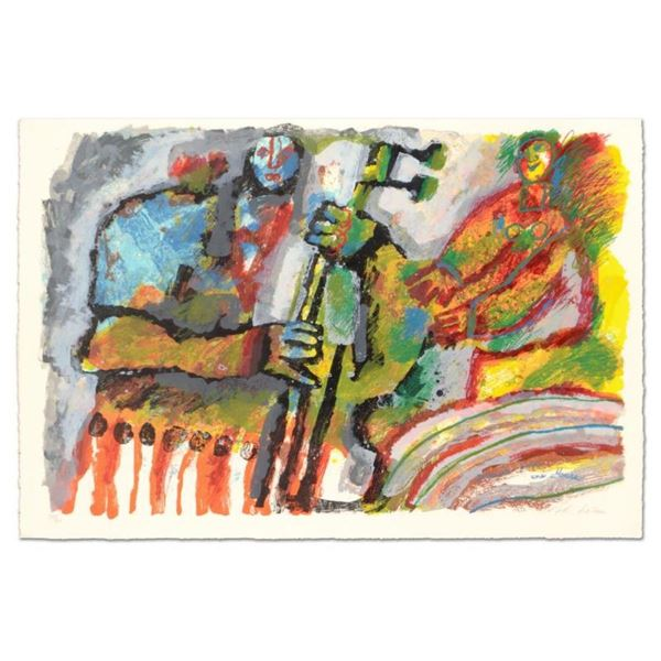 Gerenade por une mouse by Tobiasse (1927-2012)