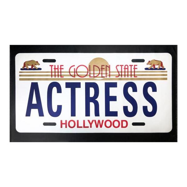Actress by Steve Kaufman (1960-2010)