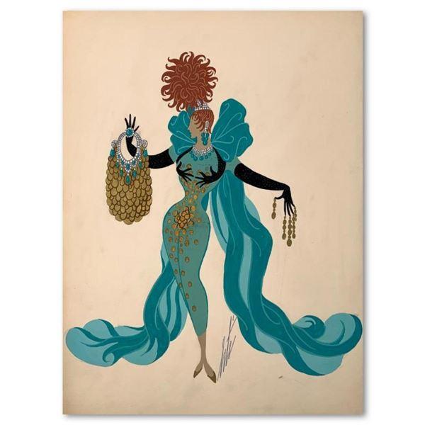Jeu d'enfer by Erte (1892-1990)