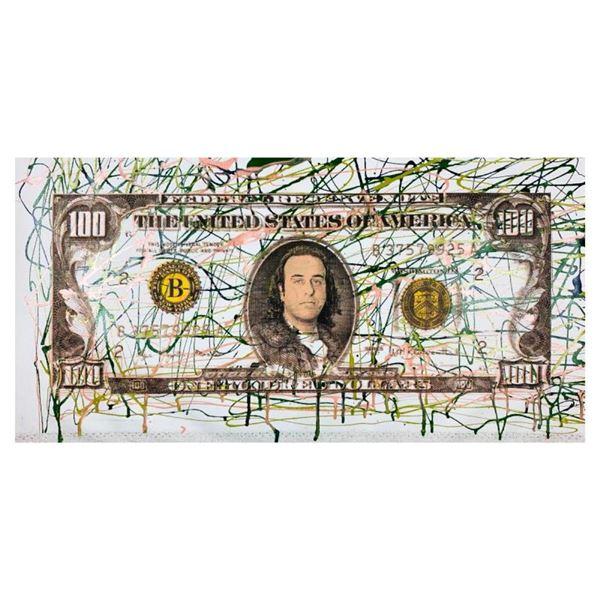Kaufman $100 by Steve Kaufman (1960-2010)