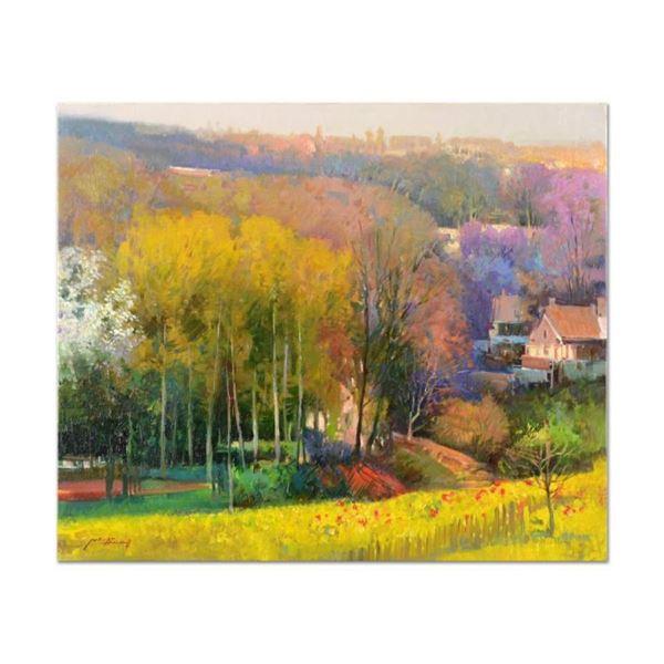 Golden Valley by Feng Original