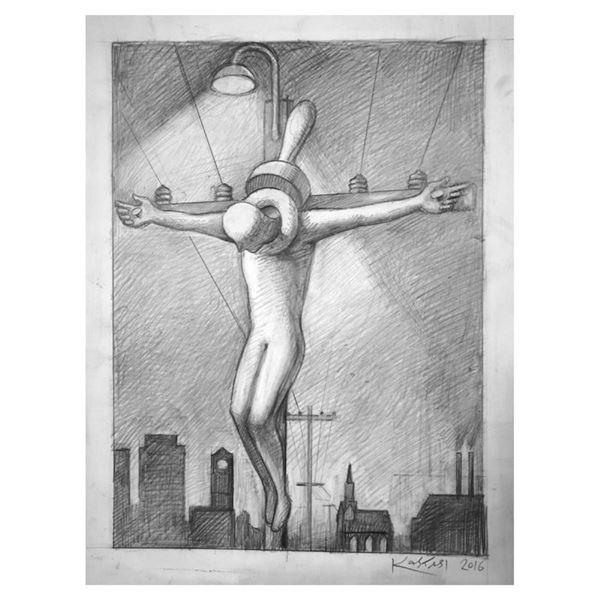 Metropolitan Martyr by Kostabi Original