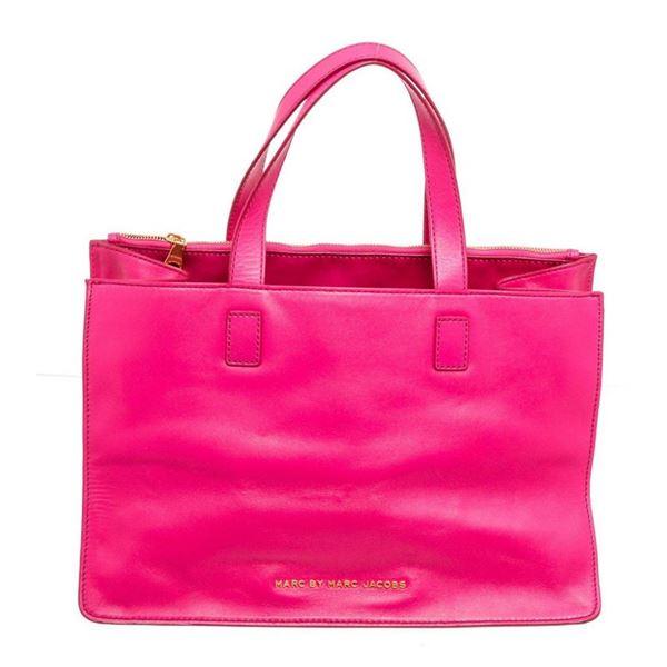 Marc by Marc Jacobs Pink Ligero' Leather Satchel Bag